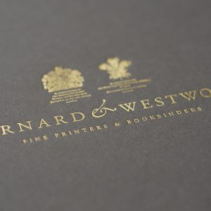 gold embossing - detail