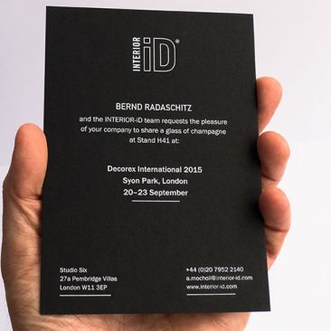 INTERIOR-iD Invitation