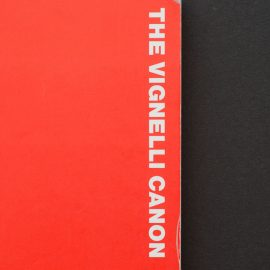 Bookshelf: The Vignelli Canon